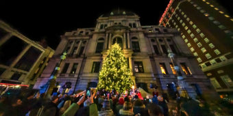 Winter Lights Market lights up Kennedy Plaza