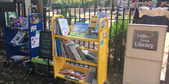 Bring your books to the Little Free Library