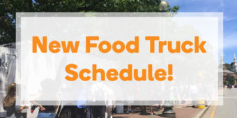 New Fall Food Truck Schedule!