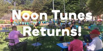 Noon Tunes Returns for June