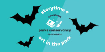 10 Reasons to come to Spooky Storytime + Haunted Art in the Park this weekend.