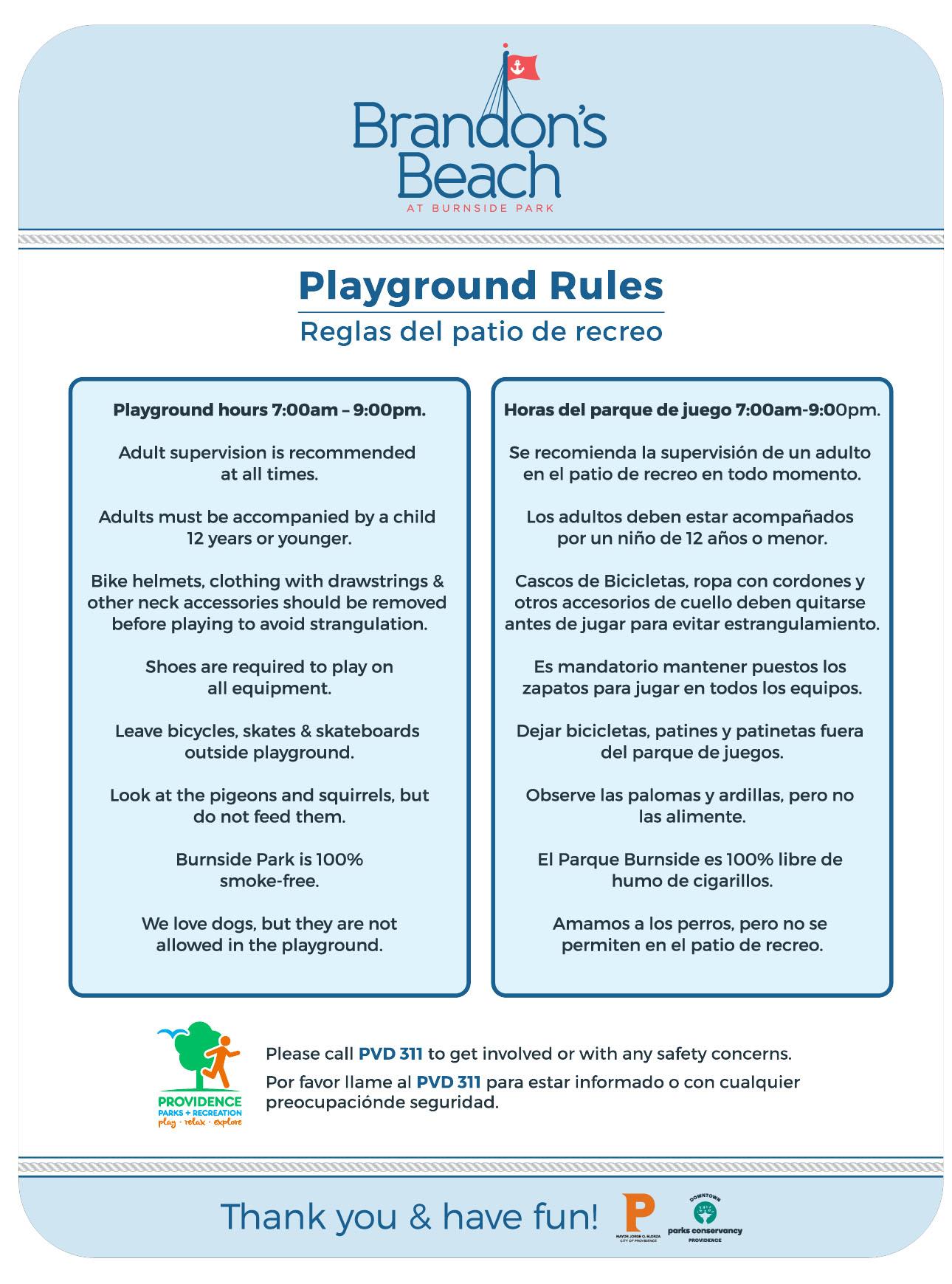 burnside park playground downtown providence parks conservancy dppc