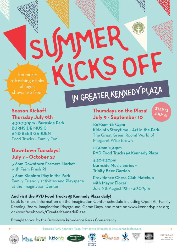 Kennedy Plaza Schedule 2015