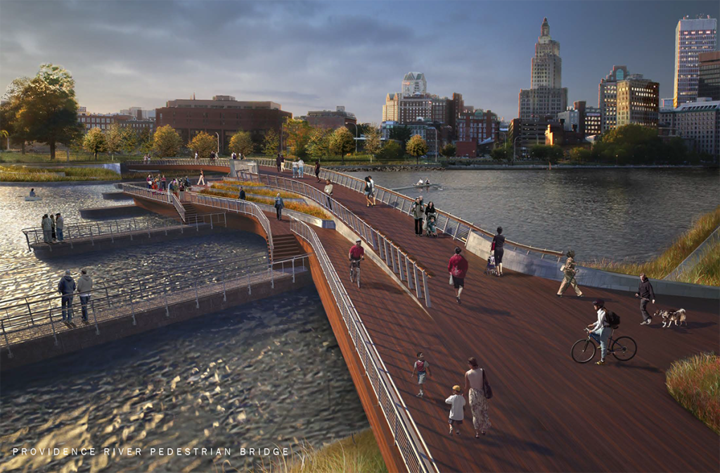 Proposed Pedestrian Bridge on the Providence River