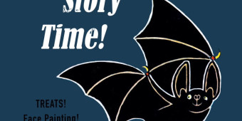 Spooky Storytime and Art in the Park OCT. 24th!